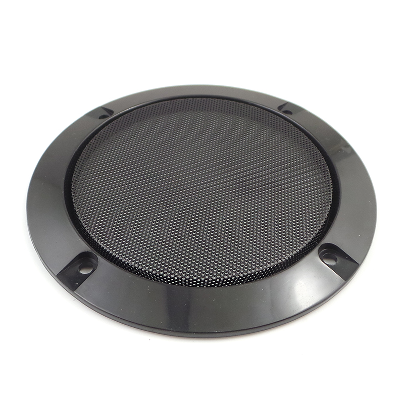 "Table Speaker Card Inserts 4: 4"" 4 Black Car Speaker Grille Insert Card Speaker Audio"