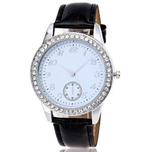 Bracelet Watch High-Quality Woman New-Fashion Luxury Brand Crystal Quartz Dial