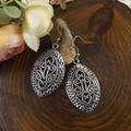 2015 women classic fashion jewelry gift Ethnic Tibetan silver earrings Bohemia