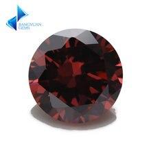 Rhodolite цвет 3 ~ 10 мм оптовая продажа 5a камень из фианита
