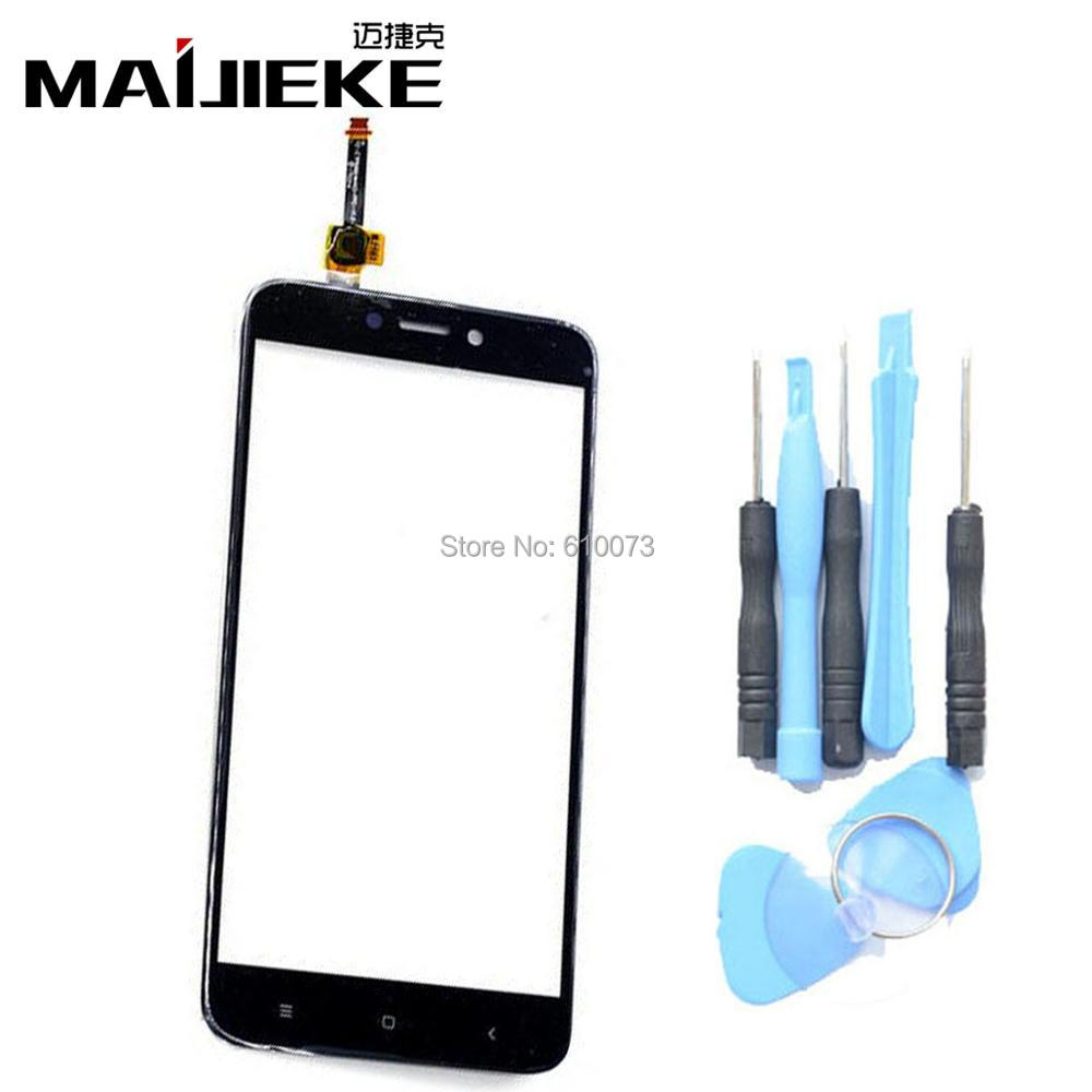 MAIJIEKE Top Quality Glass Panel Touch Screen Digitizer For Xiaomi Redmi 4X Touchscreen Panel Mobile Phone Replacement+Tools