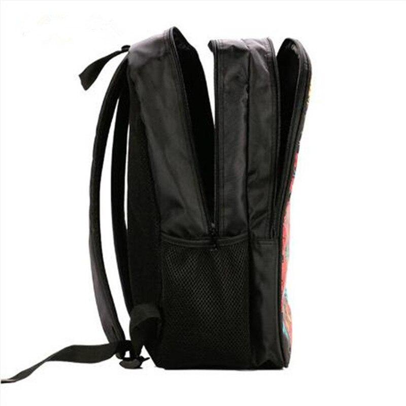 mochila bolsas mochila escolar Exterior : Abra o Bolso