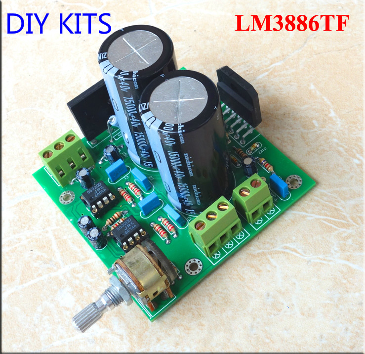 Steady Lm3886 Subwoofer Audio Amplifier Board Bass Amp 68w Kits For 2 Frequency Divider Preamp Linquets Accessories & Parts Audio & Video Replacement Parts