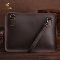 Mimiatrend High Quality Vintage Genuine Leather Bag For 11 12 13 14 Inch Laptop Sleeve Pouch