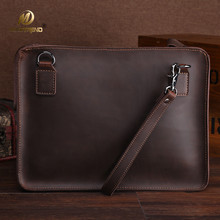 Mimiatrend High Quality Vintage Genuine Leather Bag for 11 12 13 14 Inch laptop Sleeve Pouch Wholesale
