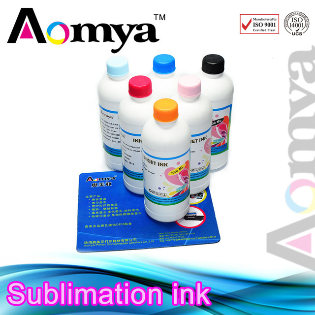 Free Shipping 4CX250ML Sublimation ink|Hot sale dye sublimation ink for DX5/DX6/DX7|Heat transfer sublimation ink