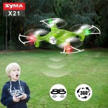 Syma X21 Mini Dron Quadcopter 2.4G 4CH 6-aixs Gyro RC Drone No Camera RC Helicopter Remote Control Aircraft Children Toys Gift