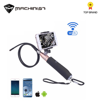 New 8mm Lens Endoscope Camera Two mega pixel Wifi 1m Handheld Auto Car Repair Tools Endoscope Inspection Tool for all system