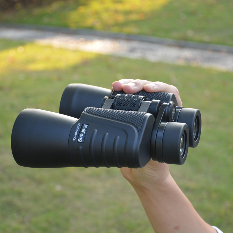 Binoculars Telescope Telescopio Binoculo Travel Vision Scope Zoom Portable NO Night Vision Waterproof Tourism Looking Glassess 1pc 10x50 trumpet soldiers zoom binoculos telescope binoculars telescopio monocular binoculo luneta binocular prismaticos a1995