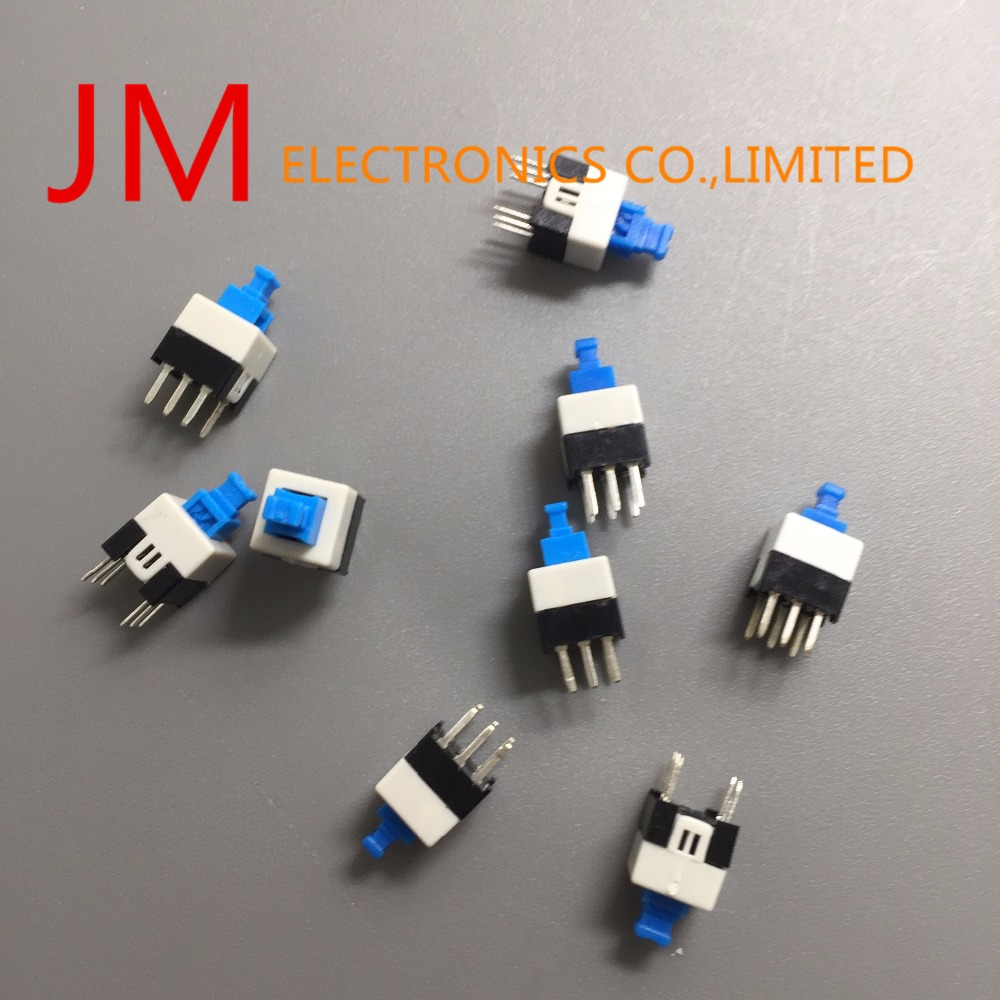 10x 7x7mm PCB Momentary Tact Tactile Push Button Switch Non Lock 6 Pin Quality