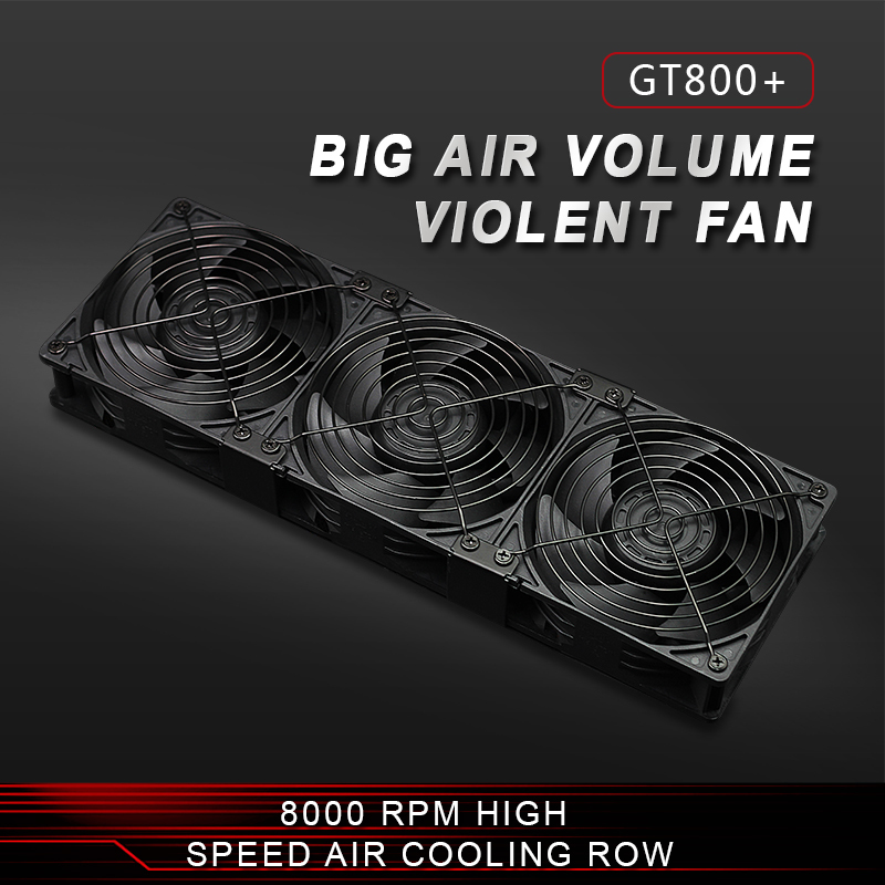 Amiable 12038 Mining Machine 8000rpm Portable Ventilation Miner Power Supply Radiator 12v 218cfm Cooling Fan Asic Bitcoin Miner Heatsink Demand Exceeding Supply Computer Components Fan Cooling