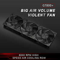 12038 Mining Machine 8000RPM Portable Ventilation Miner Power Supply Radiator 12V 218CFM Cooling Fan asic bitcoin miner heatsink