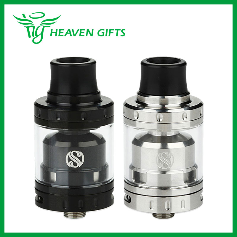 Original Augvape Merlin Mini RTA Tank 2ml Single dual coil Deck w Bottom Dual Airflow Merlin