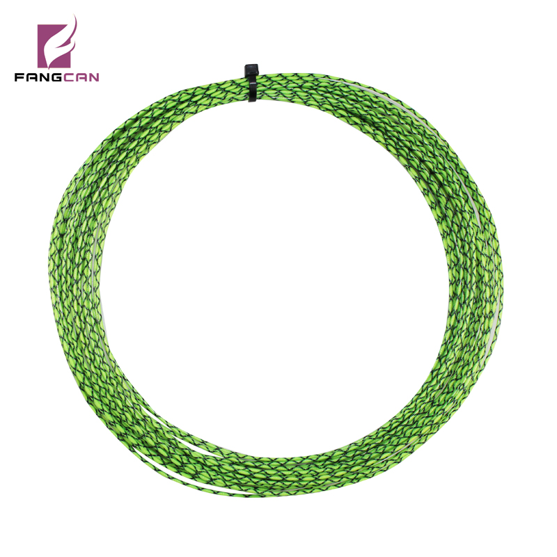 1 pc FANGCAN 1.2mm diameter Polyester Squash String with Cross Color Grade A Durable Racket String best selling
