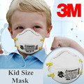 3M 8110S Mask Small size Protector Particulate Respirator Mask N95 Standard Health Care Against Non-oil LT113