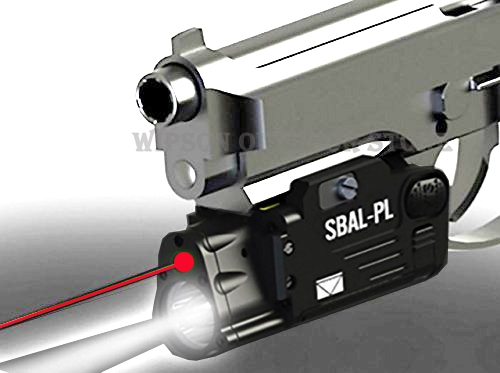 WIPSON CNC Finished SBAL-PL Weapon light Constant & Strobe Light With Red Laser Pistol Rifle SBAL sbal Flashlight Free Shipping aimtis tactical laser flashlight sbal pl hunting weapon light combo red laser pistol constant