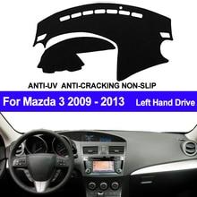 Чехол TAIJS для приборной панели автомобиля для Mazda 3 M3 BL 2009 2010 2011 2012 Автомобильная приборная панель, коврик для приборной панели, ковер, анти скользящий