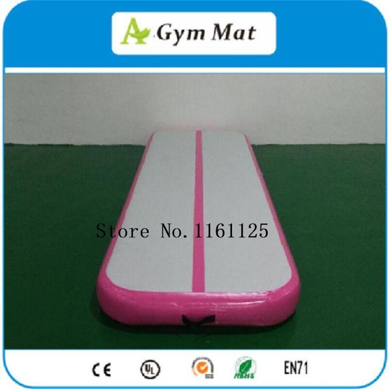 Free Shipping 2m Long Pink Cheap Indoor Gymnastics Mat