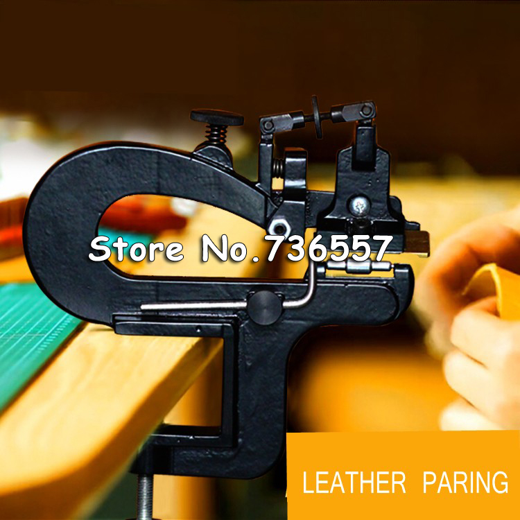 leather paring machine/Leather edge skiving machine/Leather splitter/Leather skiver Vegetable tanning Scrape thin tool leather splitter leather paring device kit leather skiver vegetable tanning scrape thin tool ne