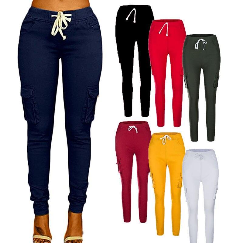 Facilité de femmes Taille Haute Confort Moderne Stretch Skinny Pantalon Ventre Contrôle