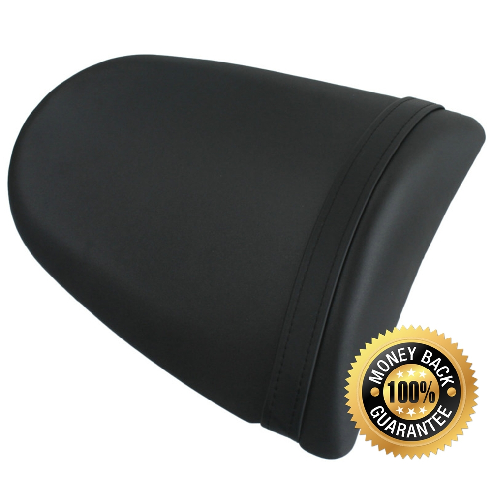 For Kawasaki Ninja ZX6R 2013 2014 13 14 Motorcycle Synthetic Leather Passenger Rear Back Seat Cover Cushion Pillion