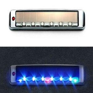 Image 5 - Accesorios de coche, luz Solar antiestática, luz LED multifunción de advertencia, Luces Led Para accesorios Para automóvil