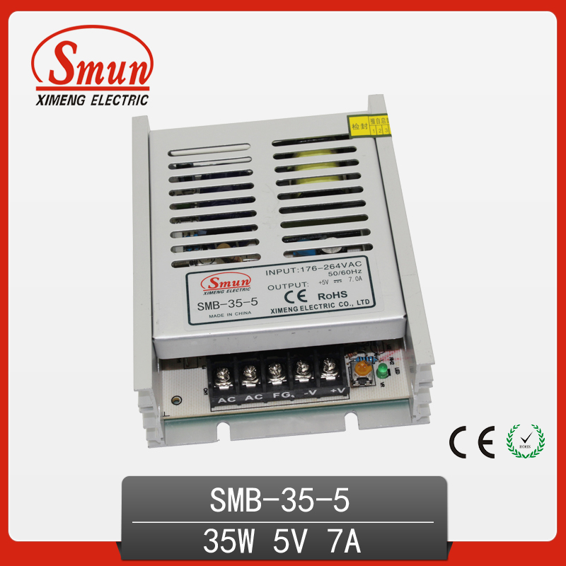 smun 35w 5vdc 7a output switching power supply universal ac input