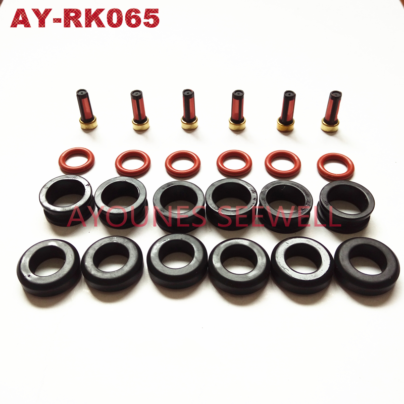 wholesale 6sets fuel injector repair kits fit Mitsubishi MD319790 MD319791 MD319815 MD352587 CDH210 AY-RK065 цена