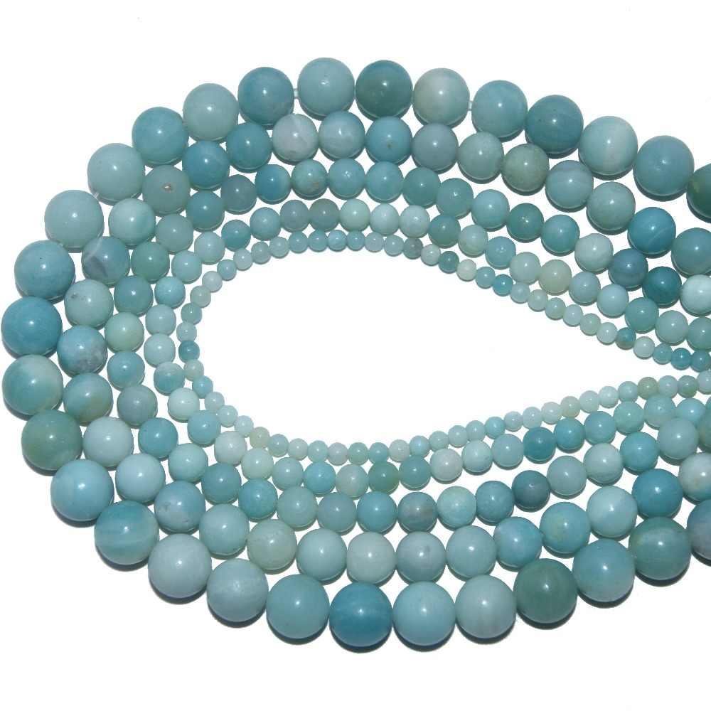 4 6 8 10 MM Hạt Đá Tự Nhiên Agat Mắt Hổ Lapis Lazuli Amethysts Hạt Đá Trang Sức Làm DIY vòng tay Vòng Cổ