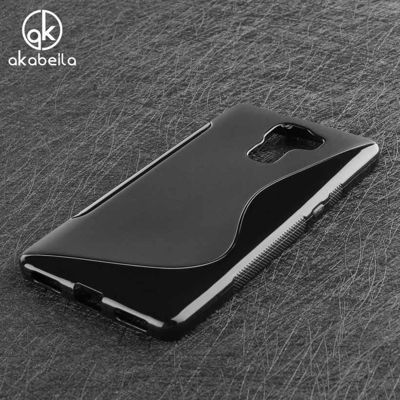 AKABEILA Mobile Fitted Case For Huawei Honor 7 Honor7 5.2 inch Silicon Cover Shell Skin For Honor 7 Cases