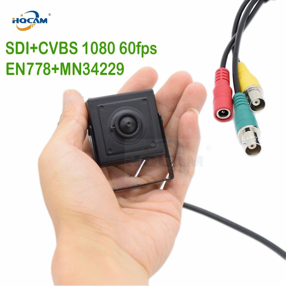 HQCAM 50fps 60fps 1080 p EX SDI HD SDI カメラ 1/3 インチプログレッシブスキャン 2.1 メガピクセルパナソニックセンサーミニ SDI カメラボックスカム -