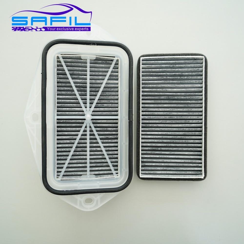 3 Trous Cabine Filtre À charbon pour Vw Sagitar CC Passat Magotan Golf Touran Audi Skoda Octavia Externe Filtre À Air # ST100