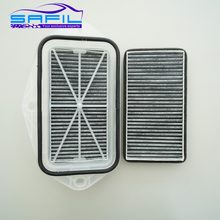 3 Holes Cabin carbon Filter for Vw Sagitar CC Passat Magotan Golf Touran Audi Skoda Octavia External Air Filter #ST100(China)