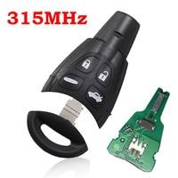 4 Button Car Keyless Entry Remote Key Fob 315MHz For SAAB 9 3 9 5 2003