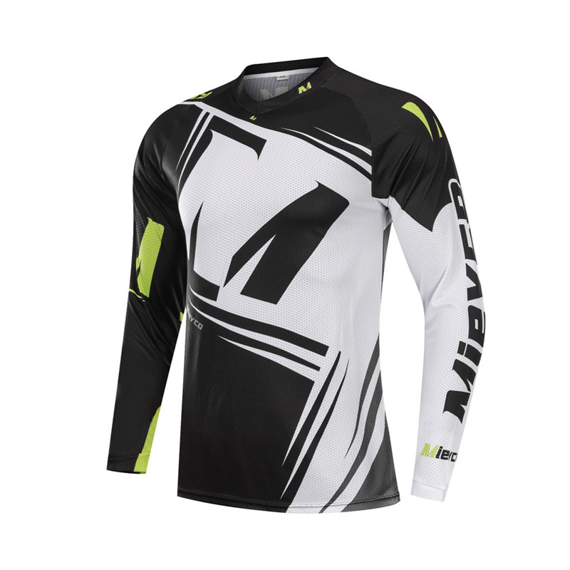 Mens Downhill Jersey Off Road Long Sleeve DH Racing Jersey Muti Color All Size
