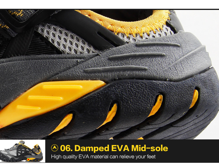 respirável aqua sapatos ao ar livre de