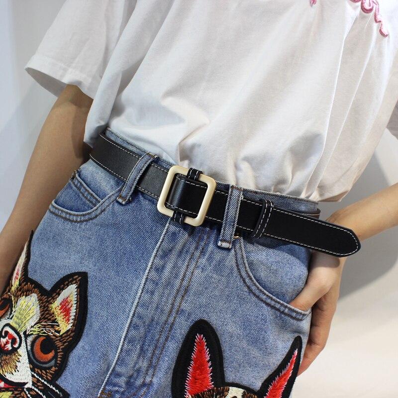 Горячая распродажа! женский ремень с пряжками и пряжками, с золотой пряжкой, для джинсов, для женщин, модные, студенческие, простые, повседневные брюки