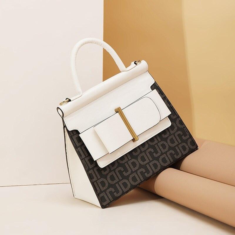 Women Luxury HandBags PVC Crossbody Bag Large Purse Female Fashion Perfume Bag Vintage Designer Flap Bag