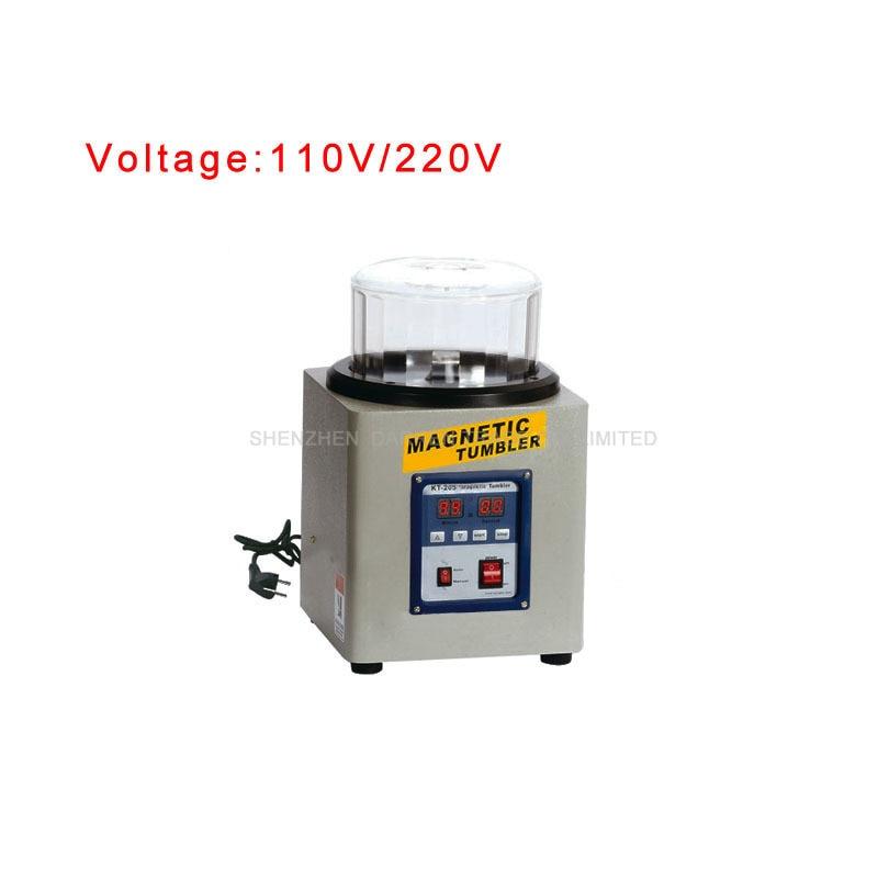 KT 205 1100g 110V/220V Ferromagnetic Powerful Magnetic Tumbler Powerful Electric Magnetic Polishing Machine