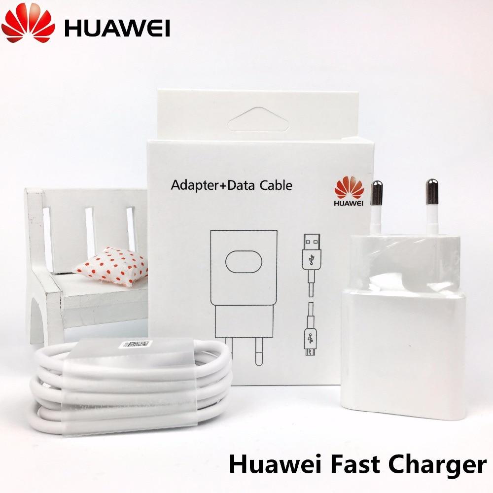 Huawei p9 Quick Charger Original , 9V 2A QC2.0 Fast EU usb rapid Charging Adapter & Genuine Cable for nova G9 mate 8 P8 P9 lite