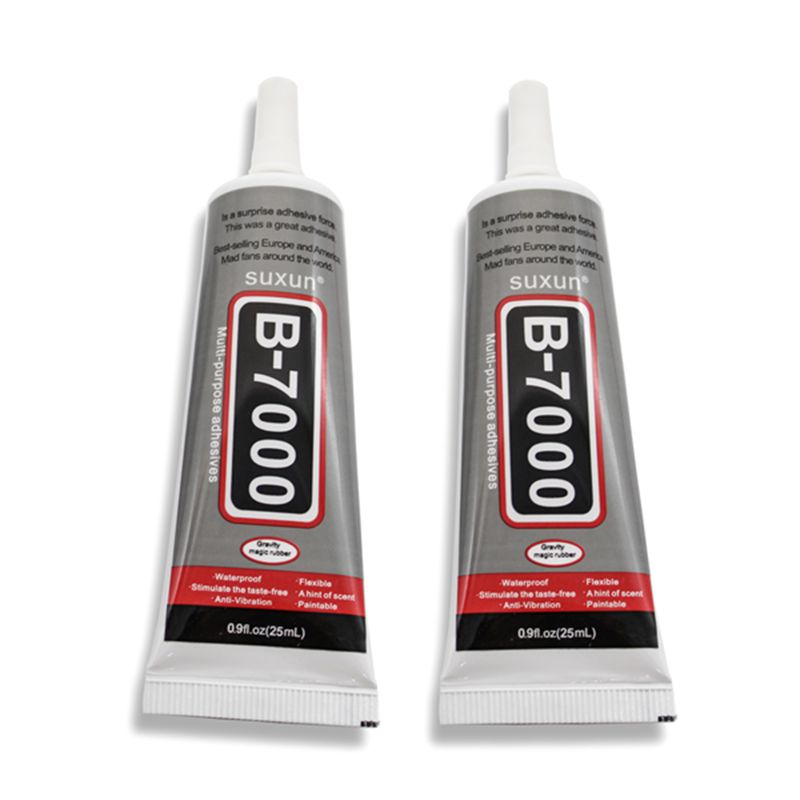 1 pcs 25ml Best B-7000 Multi Purpose Glue Adhesive Epoxy Resin Diy Crafts Glass Touch Screen Cell Phone Super glue B7000