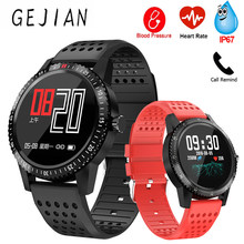 Smart Watch Men Women Waterproof IP67 GPS Smartwatch Blood Pressure Watch Connected Smart Clock Fitness Watches For Android IOS(China)