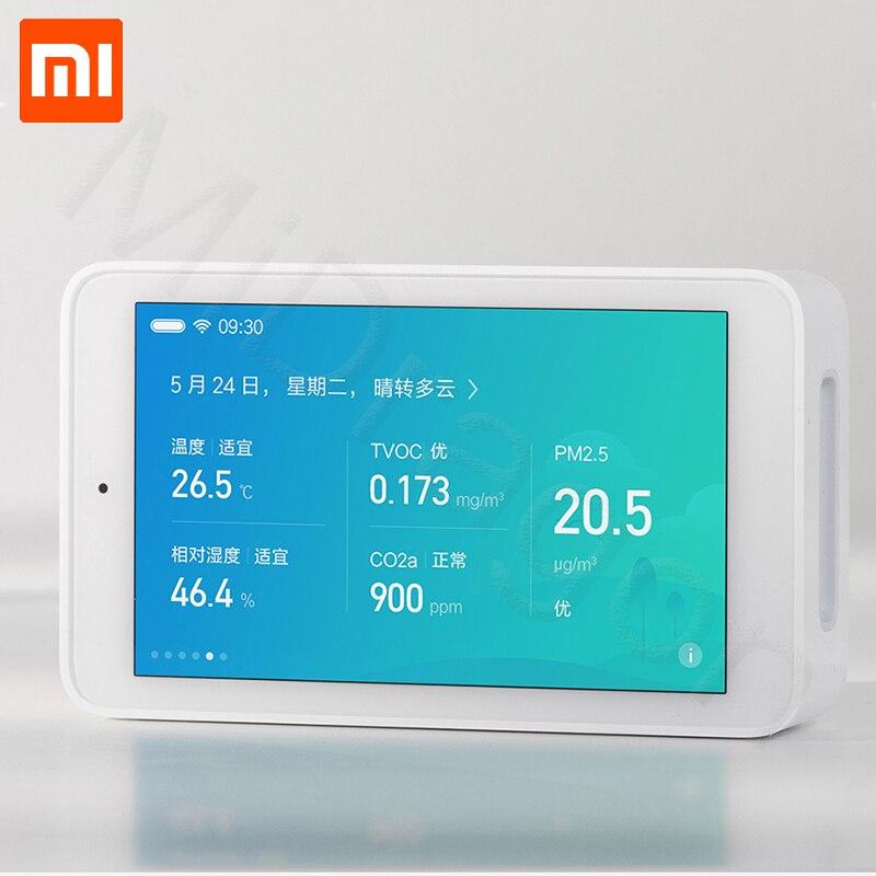 Nouveauté Xiaomi Mijia air détecteur Haute-précision de détection 3.97-pouces résolution de lécran 800*480 pUSB interface surveillance à distance