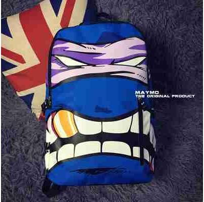 248e3fa3dc7 Free shipping sprayground backpack Teenage mutant ninja turtles backpack  bag creative personality men and women