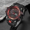 Ohsen homens esportes relógios de luxo da marca relogio masculino digital led esporte relógios de pulso 50 m resistente à água para homens relógio de quartzo