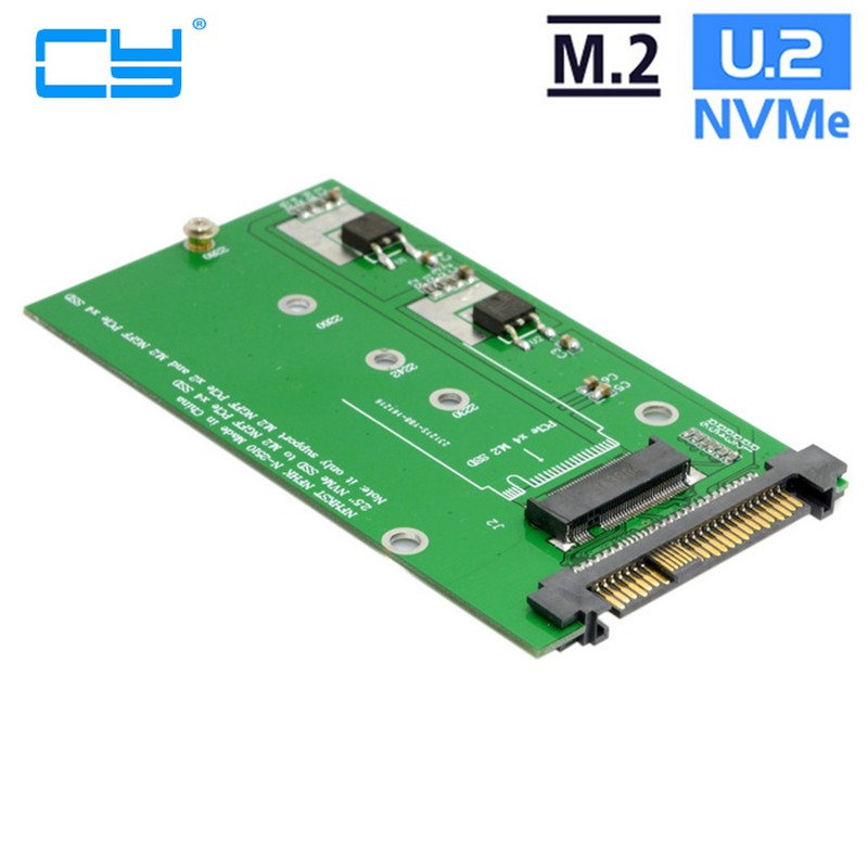 SFF-8639 NVME U.2 para Adaptador PCIe SSD NGFF M.2 M-chave para Substituir Mainboard Intel SSD 750 p3600 p3700 u 2 sff 8639 to m 2 pci e i f nvme ssd adapter u 2 to ngff converter with cable