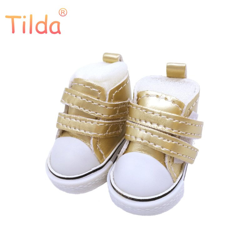 Tilda 5cm Doll Shoes For BJD Dolls Toy Casual Boots 1/6 Leather Sneakers Shoes for Russian Textile Sewing Doll Accessorries tilda 5pairs lot 5cm canvas sneak for bjd doll mini textile doll boots 1 6 polka dots designer sneakers shoes for handmade dolls