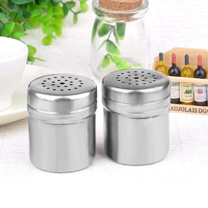 Spice sugar salt pepper herb shaker jar toothpick storage c stainless steel 2015 new in spice - Toothpick shaker ...