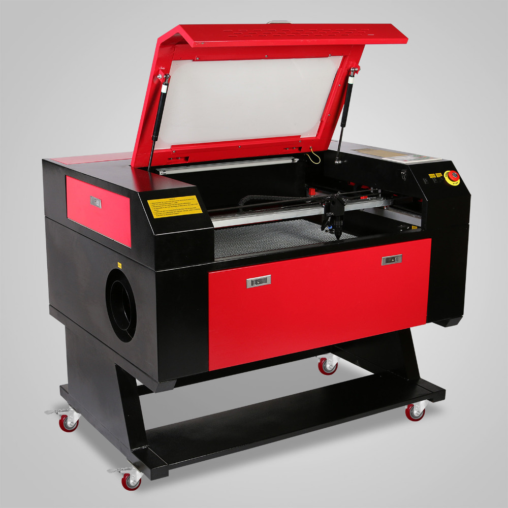 Top Selling 80W CO2 Laser Cutter Laser Engraver Laser Engraving Cutting Machine With Color Screen 700*500mm