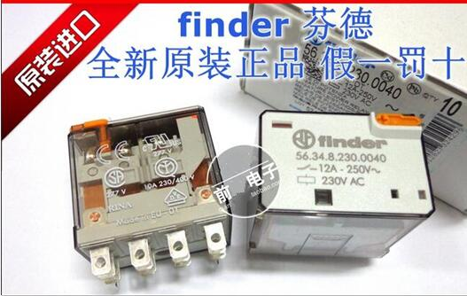 HOT NEW relay finder 56.34.8.230.0040 230VAC 56.34.8.230.0040-230VAC 56.34 230VAC 12A DIP14 1PCS/LOT hot new relay 8980809780 hf3511 12 l 1513006728 1pcs lot